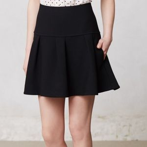 Anthropologie Black Skirt