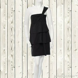Robert Rodriguez Sleeveless One-Shoulder Dress 6