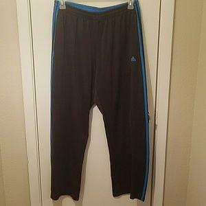 Adidas Climalite Black & Blue Training Sweats