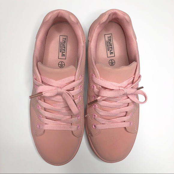 Truffle Collection Shoes - Millennial Pink Sneakers