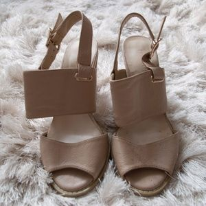 Structured Nude Heels