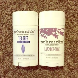 Schmidt's All Natural & Aluminum free deodorant!
