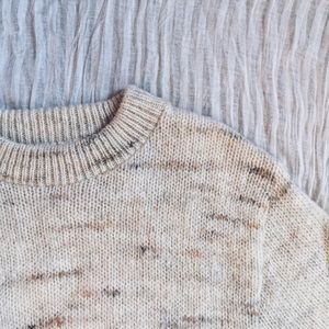"""[NEW] """"Dolce Leche"""" Oversized Sweater"""