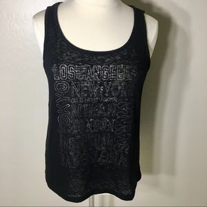 TORRID TANK TOP RACERBACK LACE UP 3 PLUS SIZE