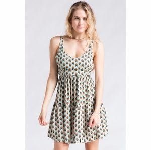 Cute Multi Print Dress