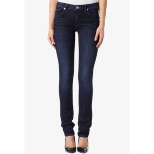 Hudson Straight Leg Dark Wash Jeans