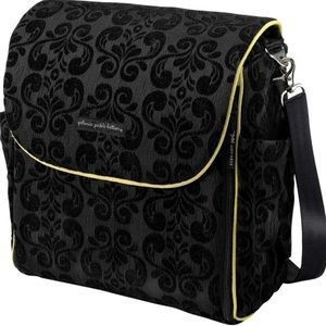 Petunia Pickle Bottom Boxy Backpack Diaper Bag Blk