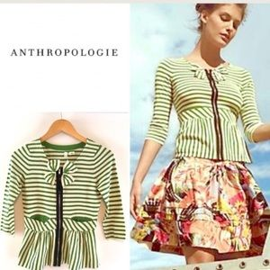 "Anthropologie ""Four Petals"" Sweater by Moth"