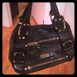 Authentic Jimmy Choo leather purse