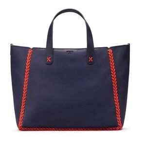 TORY BURCH WHIPSTITCH MED TOTE