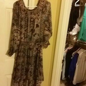 Womens Hi-Lo dress