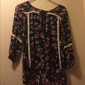 Seventeen at Sears Floral blouse