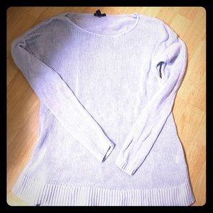 Light blue tunic style Gap sweater