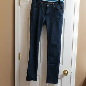 """Express """"Mia"""" skinny jeans in size 8 long"""