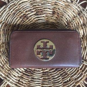Tory Burch Brown Wallet: Pre-loved