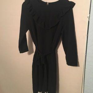 H&M black business dress