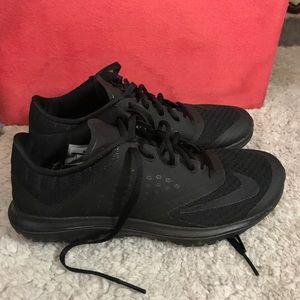 ‼️SALE‼️ All black nike sneakers!!