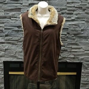 Amazing Gap reversible vest