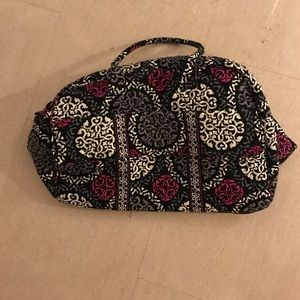 Vera Bradley paisley travel bag luggage