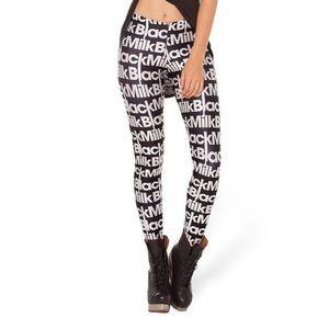 NWOT Black milk leggings LOGO