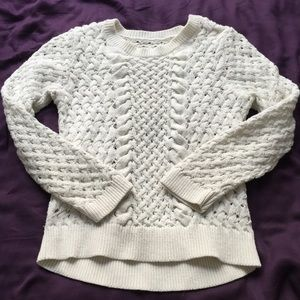 Anthropologie knitted sweater