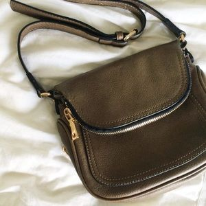 Small satchel crossbody purse - lots of pockets!