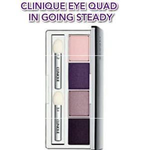 ❗Sale ❗CLINIQUE EYE QUAD IN GOING STEADY (PURPLES)