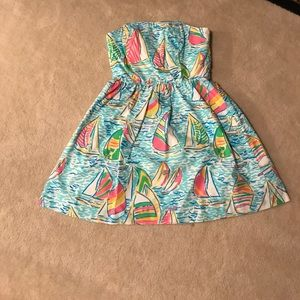 "Lilly Pulitzer ""You Gotta Regatta"" Lottie Dress"