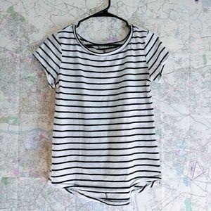 Bershka Basic Stripped T-Shirt