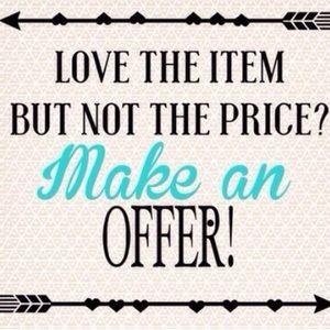 Other - Make An Offer 😊👍