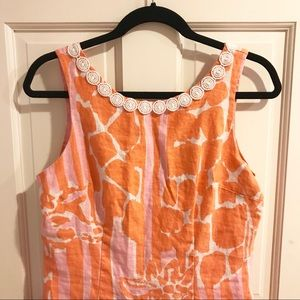 Lilly Pulitzer linen shift dress 🍍
