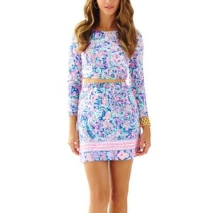 Lilly Pulitzer Boca Chica Crop and Skirt Set
