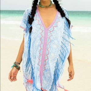 Surf Gypsy Neon trim cover up