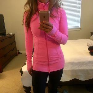 Lululemon Hot pink Jacket size 2