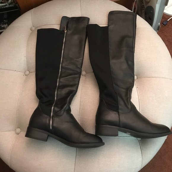 5ede47f43aeb Scuba Faux Leather Tall Boots (Wide Width). M 59ea922c2599fe5938016c3f