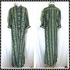 Vintage LIBERTY HOUSE KIYOMI Hawaii dress M