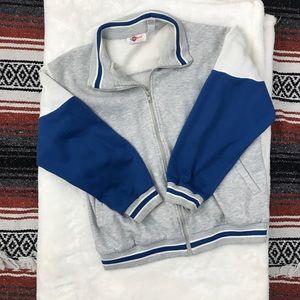 Vintage 90s Zip Up Sweatshirt