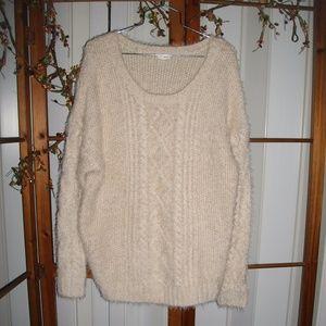 EEUC Garage Super Soft & Fuzzy Knit Sweater M-L