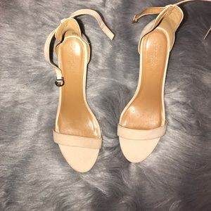 Nude Sling-Back's