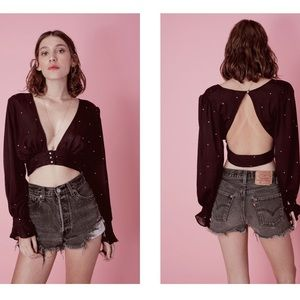For Love And Lemons Disco Baby Top