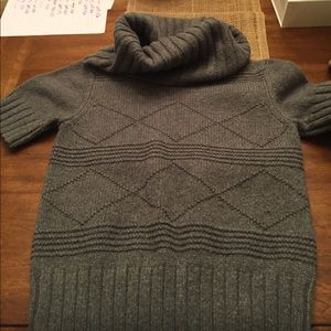 Gray cow neck sweater!