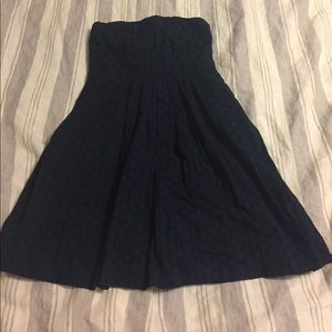 Gap Navy Eyelet Dress - size 8
