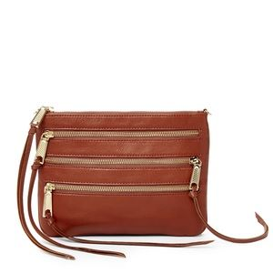 Rebecca Minkoff 3 Zip Rocker Crossbody Bag