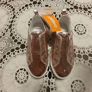 Gymboree Pink Sparkle Slip On Shoes NWT