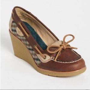 Sherry Top Sider Wedge loafers