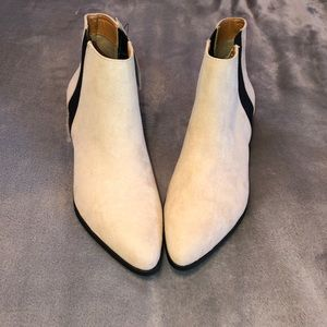 Taupe and Black H&M Booties