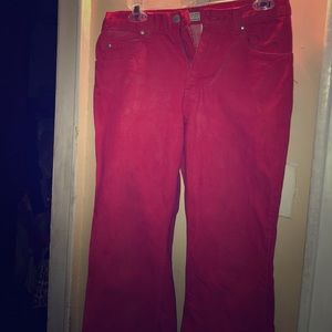 Old Navy Red Denim Jeans