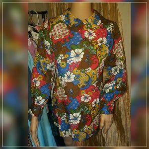 Authentic 1970s blouse