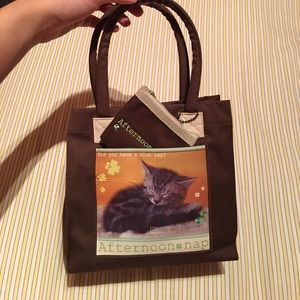 Small Kitty Tote