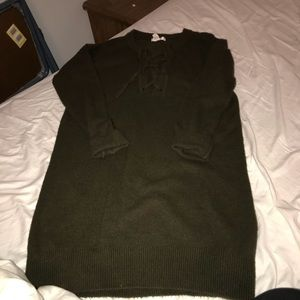 Forever 21 Green Knit Dress